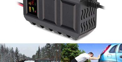 cargador bateria coche